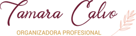Organizadora Profesional – Tamara Calvo Logo